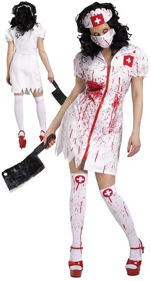 コスチューム LFU121234 Cursed Nurse Costume