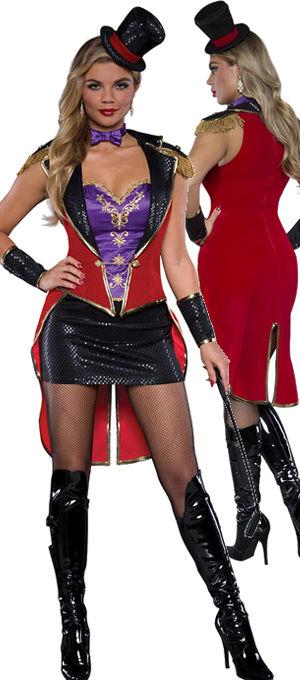 コスチューム LIC25022 Racy Ringmistress Costume