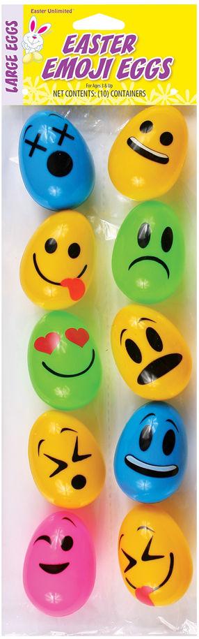 コスチューム LFU3061 2.5inch Easter Emoji Eggs