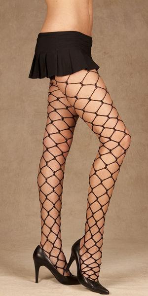 輸入下着 LEM1851 Fence Net Pantyhose