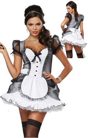コスチューム LCC01335 Luxe French Maid Costume