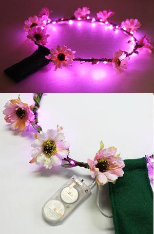 コスチューム JHC2248-PLED PlusLED ライトアップ花冠