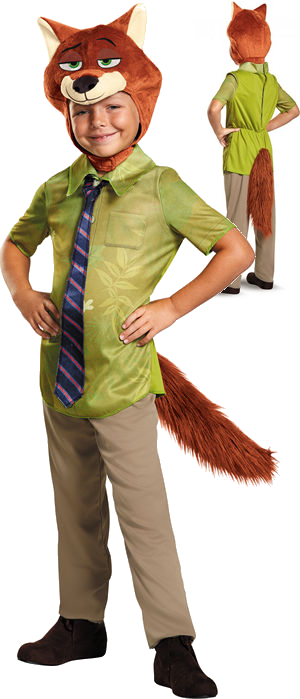 コスチューム LDS99838 Nick Wilde Boys Classic Costume