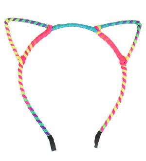 コスチューム LFP997948 Neon Rope Cat Ear Headband