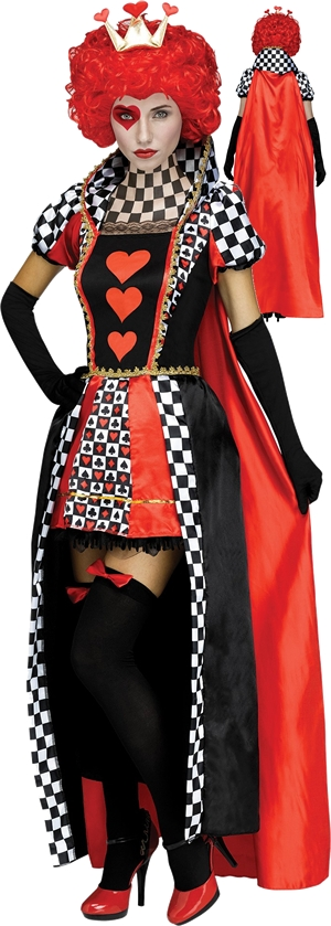 コスチューム LFU125214 Queen of Hearts Costume