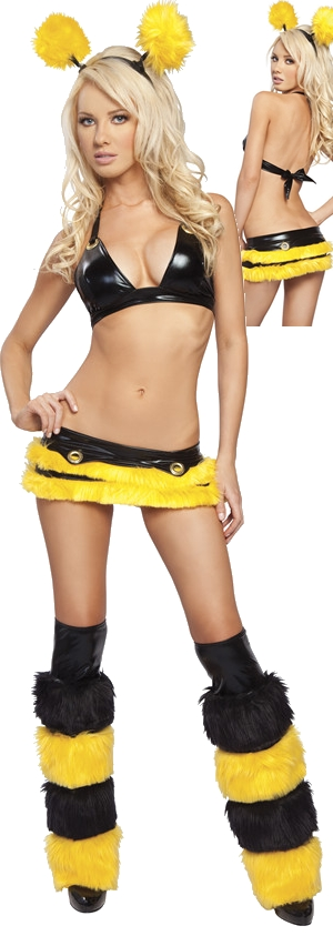 コスチューム LJV571-8004HB Honey Bee Costume with Legwarmers