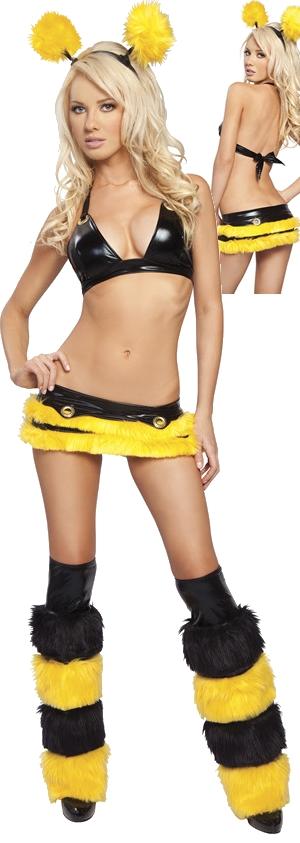 コスチューム LJV571-8004HB Honey Bee Costume with Legwarmers