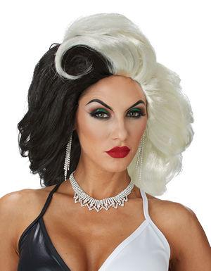 コスチューム LCC70882 Cruel Diva Wig