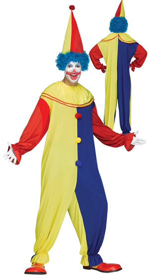 コスチューム LFU9930 Party Clown Costume