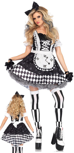 コスチューム LLA86665 Wonderland Alice Costume