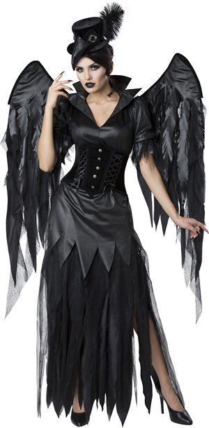 コスチューム LIC1138 Midnight Raven Costume