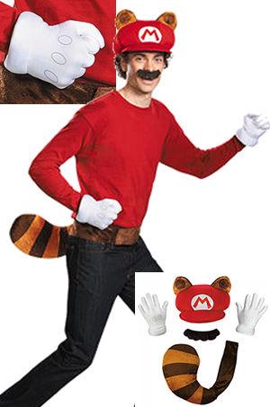 コスチューム LDS98840AD Mario Raccoon Adult Kit