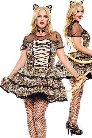 コスチューム LML70749Q Cheeky Cheetah Costume