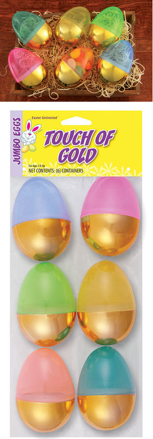 コスチューム LFU3042 Touch O Gold Eggs 6 Pack