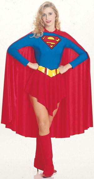 コスチューム LRU15553 Classic Adult Supergirl Costume
