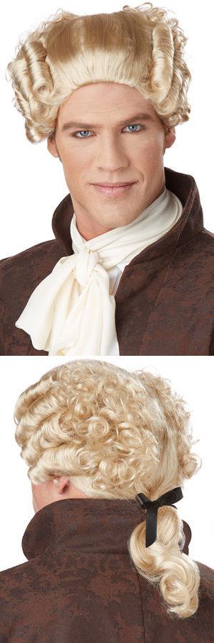 コスチューム LCC70701 18th Century Peruke Wig
