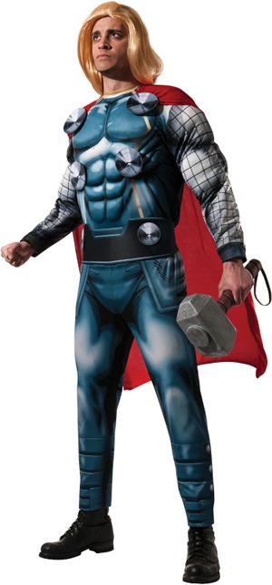 コスチューム LRU820006 Deluxe Adult Thor Costume