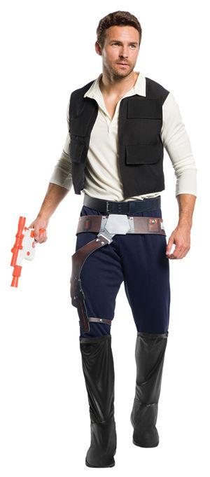 コスチューム LRU820977 Mens Classic Star Wars Han Solo Costume