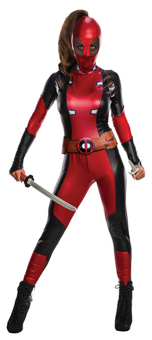 コスチューム LRU810984 Women Dead Pool Costume