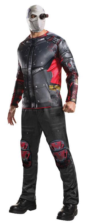 コスチューム LRU820115 Deluxe Adult Deadshot Costume
