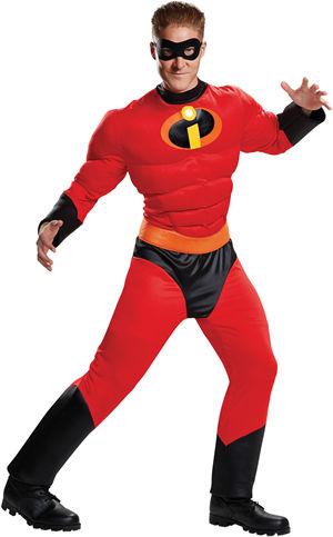 コスチューム LDS66844 Mr. Incredible Classic Muscle Adult Costume