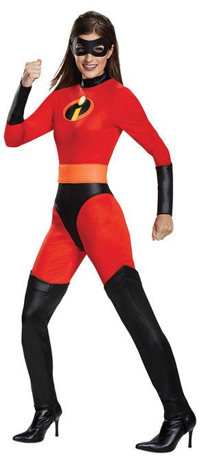 コスチューム LDS66835 Mrs. Incredible Classic Adult Costume