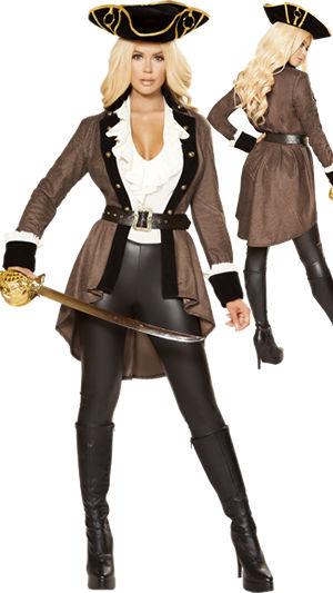 コスチューム LRB4858 Pirate Booty Diva Costume