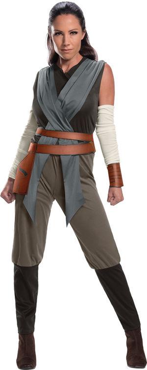 コスチューム LRU820694 Adult Rey The Last Jedi Costume