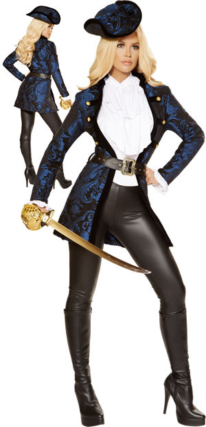 コスチューム LRB4860 Swashbuckling Pirate Beauty Costume