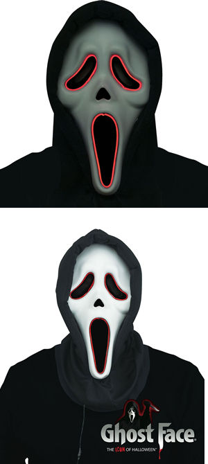 コスチューム LFU93406 Illumo GhostFace Mask