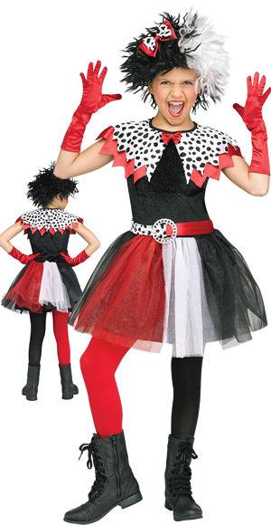 コスチューム LFU112352 Dalmation Diva Girl Costume