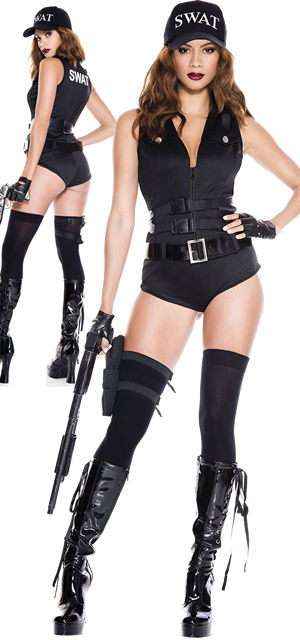 コスチューム LML70947 SWAT Hottie Costume