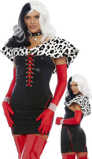 コスチューム LFP558769 Cruella World Costume