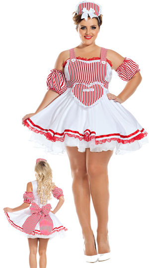 コスチューム LPKPK917XL Candy Striper Honey Costume