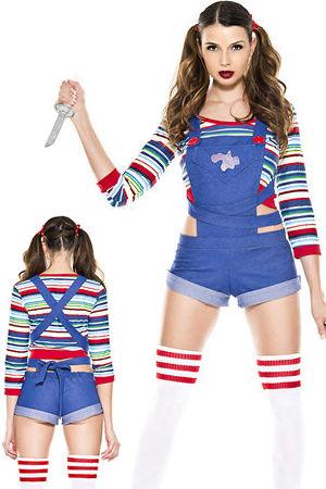 コスチューム LML70870 Nightmare Killer Doll Costume