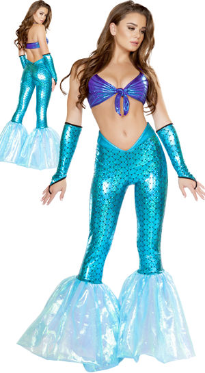 コスチューム LRB4658 2pc Mermaid Vixen Costume