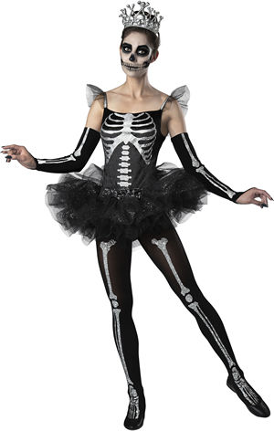 コスチューム LIC11120 Skeleton Ballerina Costume