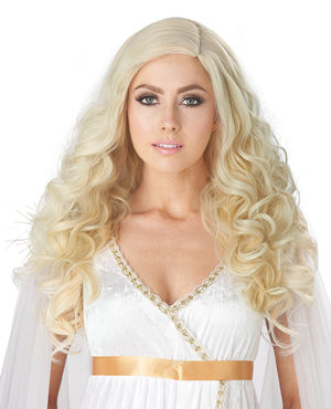 コスチューム LCC70942 Golden Angel Wig