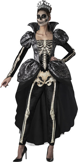 コスチューム LIC11125 Skeleton Queen Costume