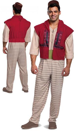 コスチューム LDS22618 Aladdin Deluxe Adult Costume