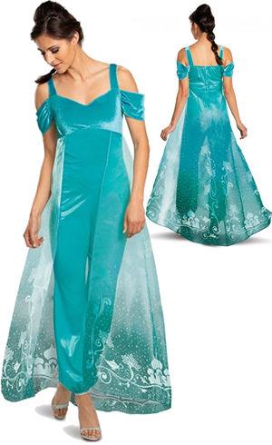 コスチューム LDS89183 Jasmine Deluxe Adult Costume