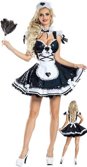 コスチューム LPKPK1943 Marvelous Maid Costume