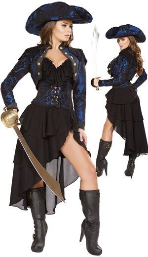 コスチューム LRB4652 4pc Captain pf the Night Costume