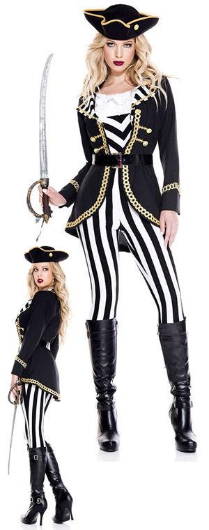 コスチューム LML70934 High Seas Captain Costume