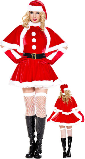 コスチューム LML70827 Secret Santa Costume