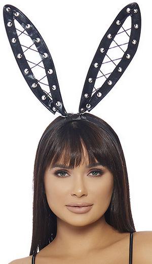 コスチューム LFP997979 Bondage Bunny Headband