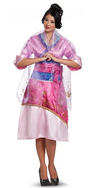 コスチューム LDS21425 Mulan Deluxe Adult Costume