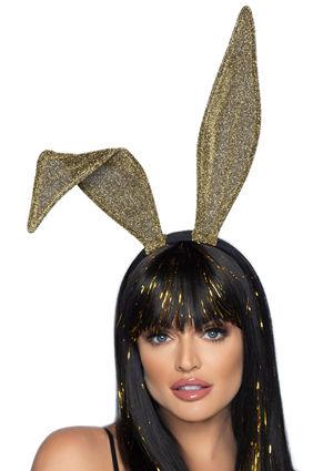 コスチューム LLA2770 Glitter Bunny Ear Headband
