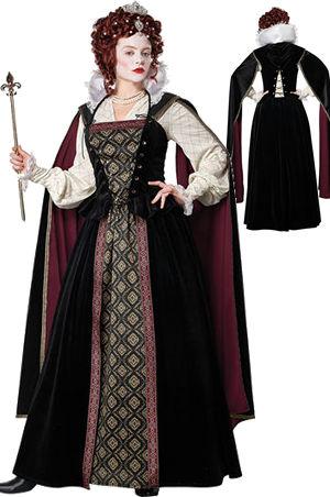 コスチューム LCC5020-014 Elizabethan Queen Costume
