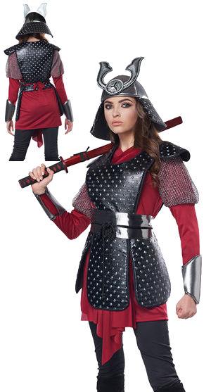 コスチューム LCC5020-043 Samurai Warrior Adult Costume